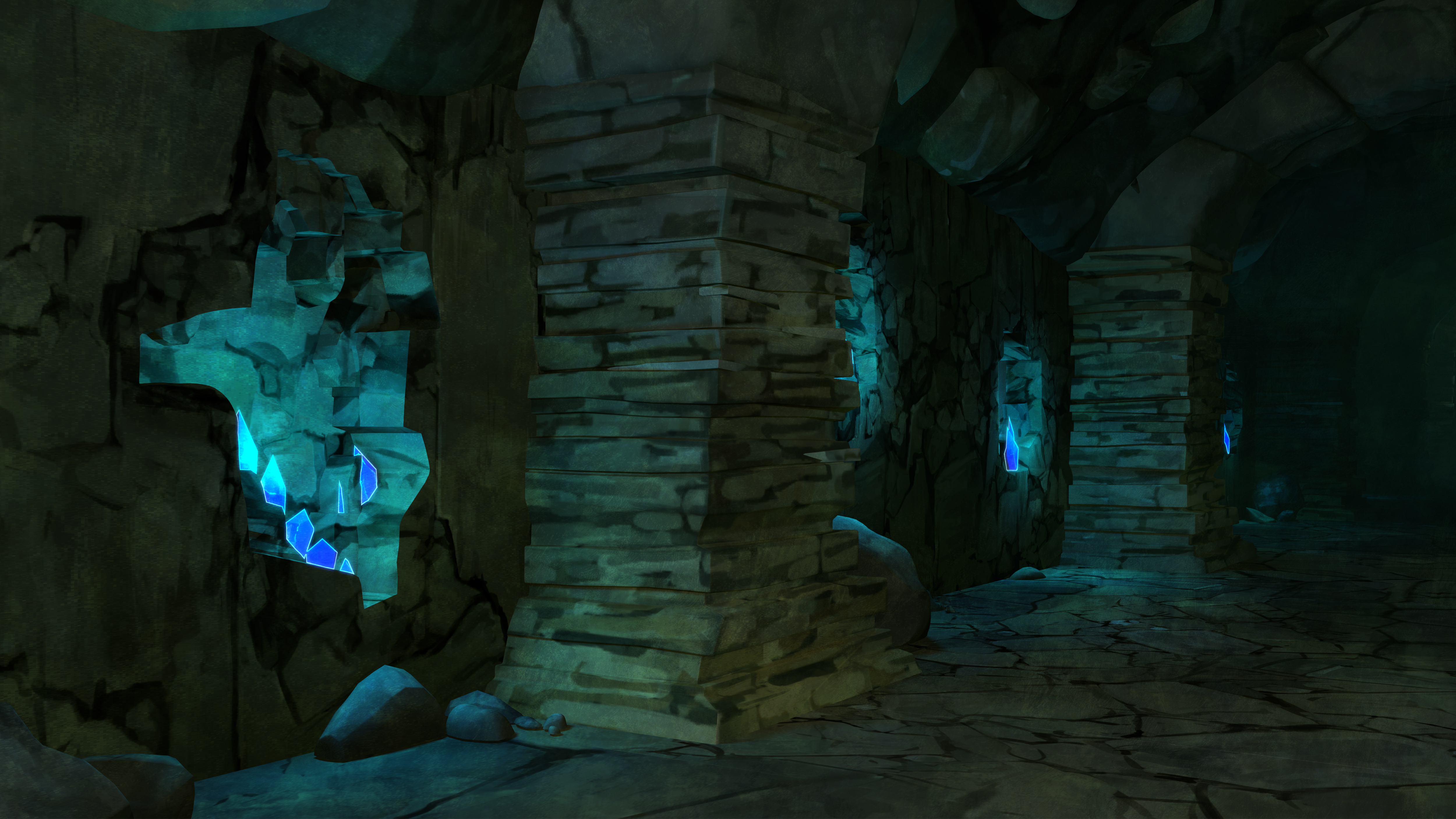 The Dragon Prince Environments and Backgrounds