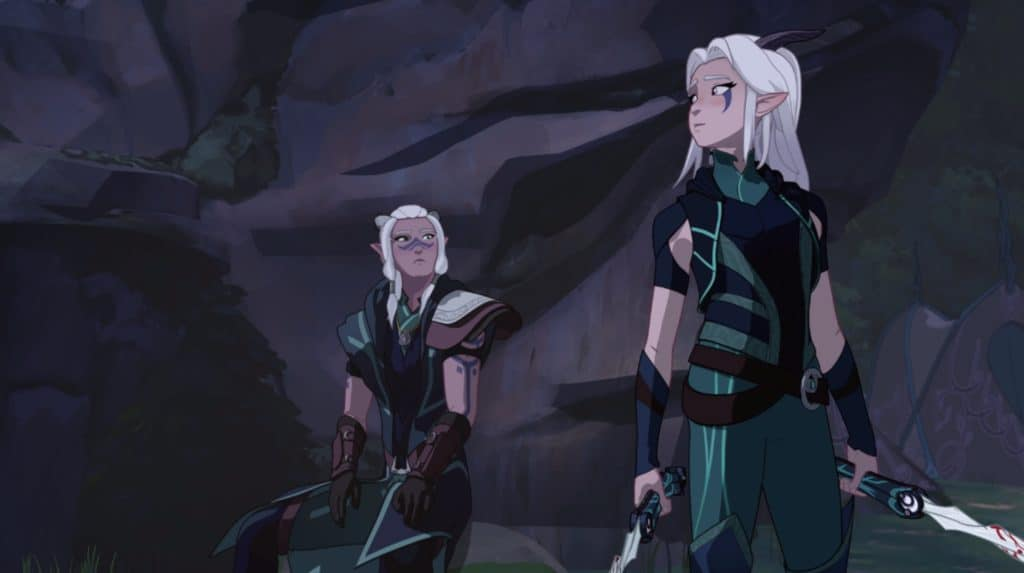 X Blades Wallpaper Item Reveal: Rayla and...