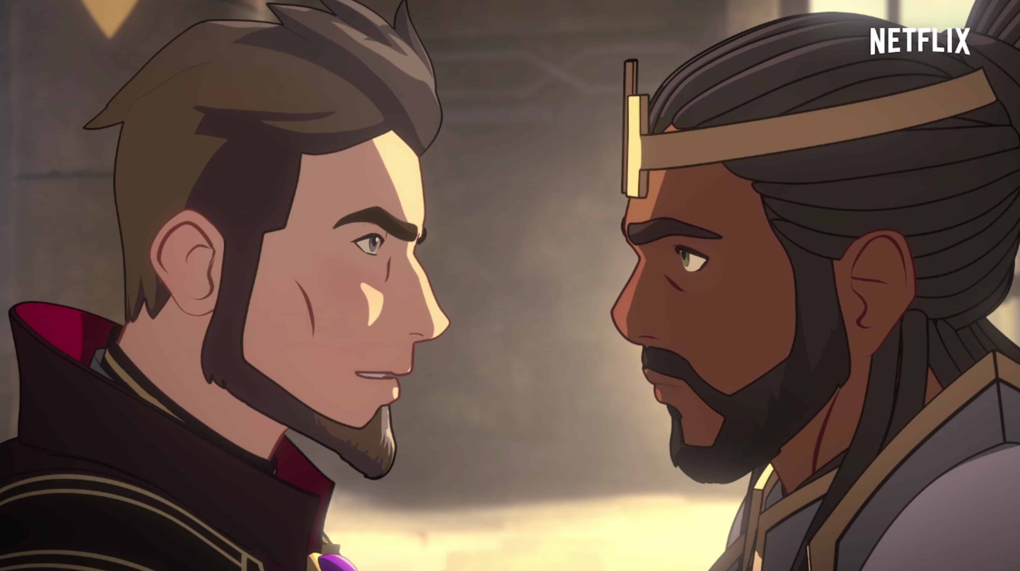 The Dragon Prince Behind-The-Scenes | King Harrow and Lord Viren