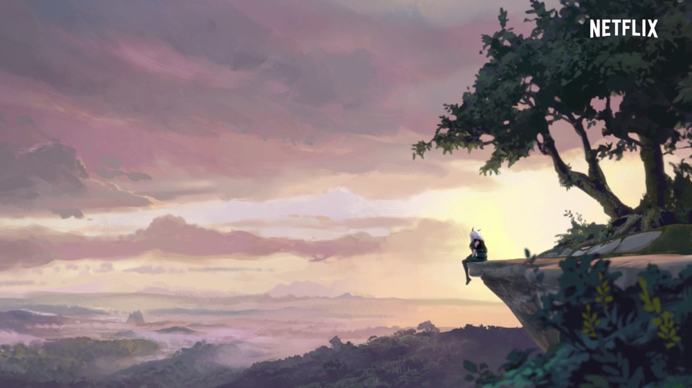 Behind the Scenes of The Dragon Prince's Environments