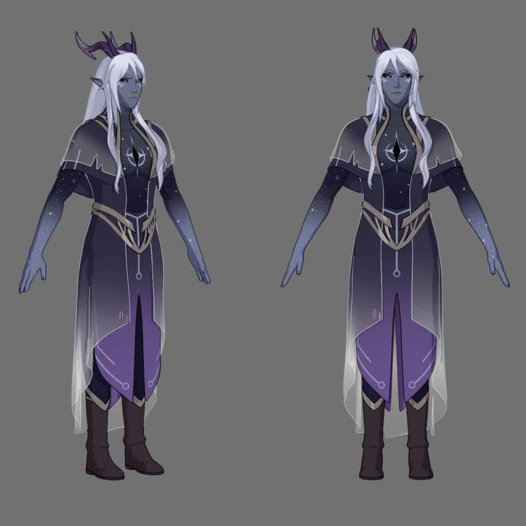 The Dragon Prince 2018 Aaravos x reader imagines
