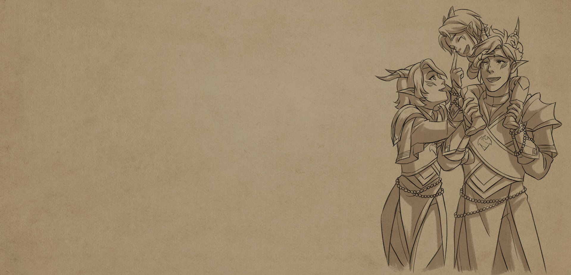 "End Credit Sketches: ""Dragonguard"""